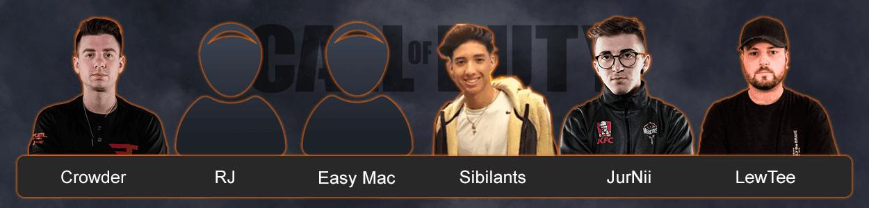 Команда FaZe Clan по Call of Duty
