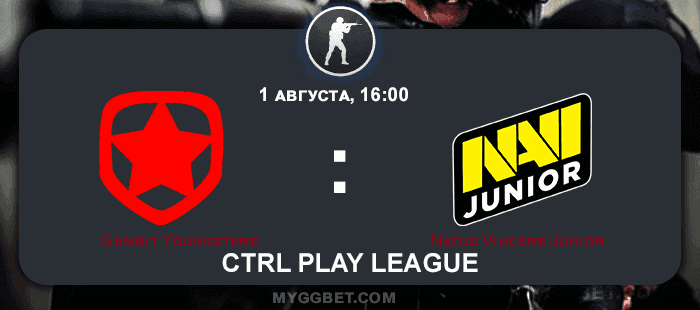Прогноз на матч Gambit Youngsters vs Natus Vincere Junior 1 августа