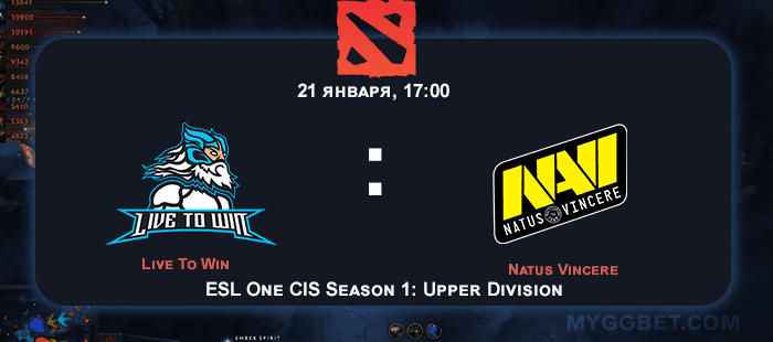 Прогноз на матч Live To Win vs Natus Vincere 14 февраля