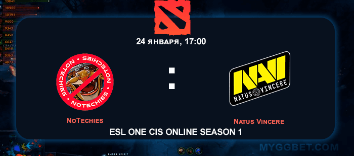 Прогноз на матч NoTechies vs Natus Vincere 24 января 2021 года